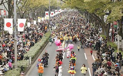 原宿表参道ハローハロウィ‐ン パンプキンパレード