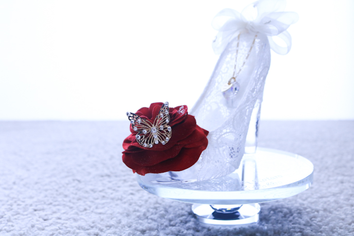 シンデレラのガラスの靴 クリスマスプレゼント
