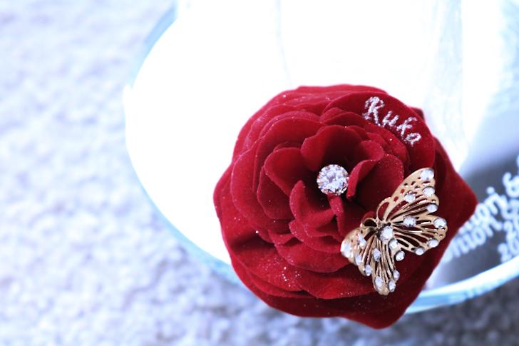 花びら ダイヤモンドパウダー