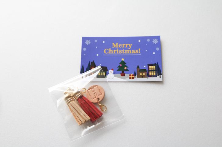 タッセル クリスマスカード