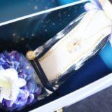 夏に最高のプロポーズギフト!シンデレラのガラスの靴(夏限定ブルー)の紹介&素敵なサプライズ方法