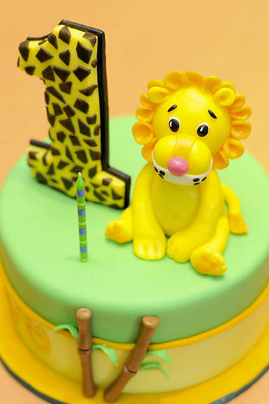 ライオンケーキ 1才のお誕生日 1st Birthday