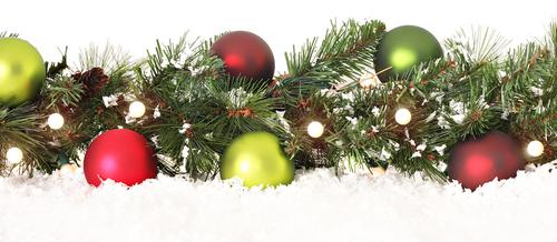 クリスマス飾りのイメージ
