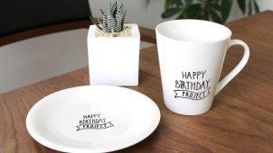 らくやきマーカーでオリジナルマグカップ&お皿を作ろう!
