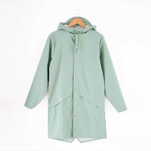 Long Jacket dusty mint(レインコート)