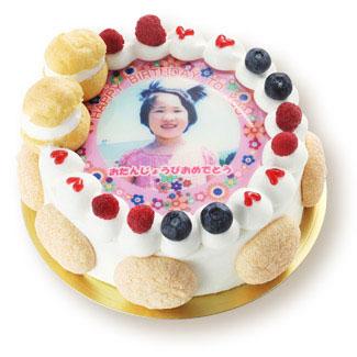 誕生日ケーキ.comの写真ケーキ
