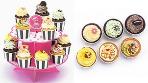 カップケーキで誕生日をお祝い!