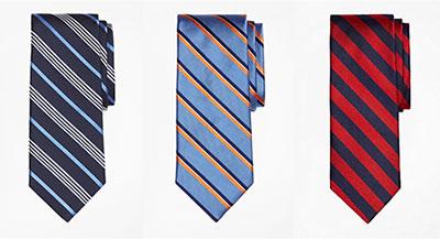 高品質にこだわるアメリカの伝統ブランド「ブルックスブラザーズ」のネクタイ