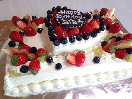 オーダーメイドケーキ「アロンジー」