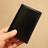 プレゼントしてもらった名刺入れ「ダブルブライドルレザーカードケース」を使ってみた感想