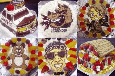 キャラケーキ.comのケーキ