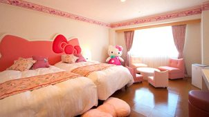 キャラクタールームのあるホテル