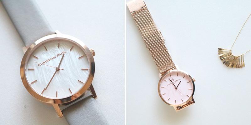 クリスチャンポールのカスタム腕時計