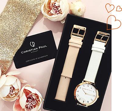 オーストラリア・シドニー発のデザイナー腕時計ブランド「クリスチャンポール(Christian Paul)」