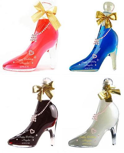 世界にひとつだけ!シンデレラ靴のお酒「スワロデコ♪シンデレラ・シュー」