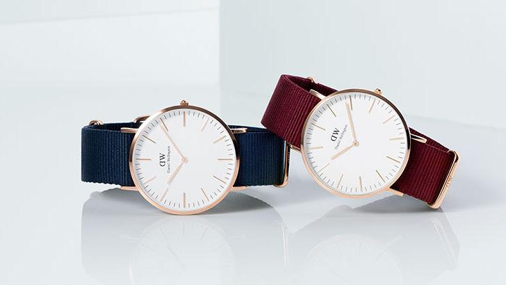 ダニエルウェリントンの腕時計 ペアウォッチ ホワイトデープレゼント