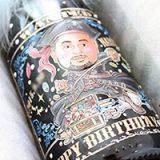 誕生日にイケてる「似顔絵シャンパン」をサプライズでプレゼントしてもらった!
