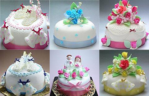 花のようなケーキ