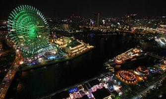 横浜ベイホテル東急の夜景