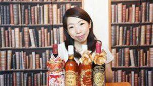 オリジナル彫刻ボトルの贈り物「アトリエココロ」の畠山依織江さん