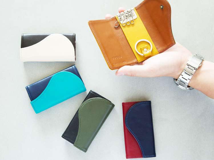 <キーケース>自分デザインのペア・キーケースを作ろう! ホワイトデープレゼント