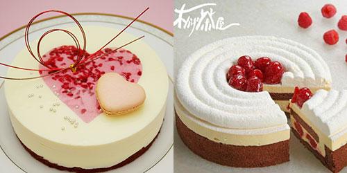 横浜 木かげ茶屋の誕生日ケーキ