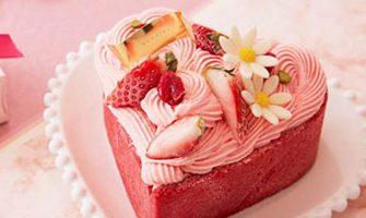 ハートのケーキ~ハートがモチーフの可愛いケーキ