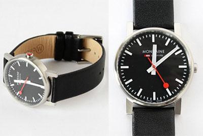 メンズ腕時計 MONDAINE(モンディーン) バレンタインプレゼント