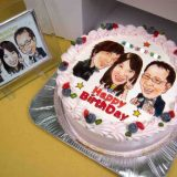 誕生日のサプライズに!似顔絵ケーキ