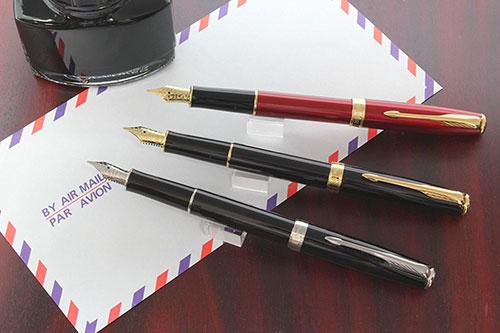 日本の文字に最適なベストセラー万年筆! イギリス PARKER ソネット 社長が喜ぶプレゼント