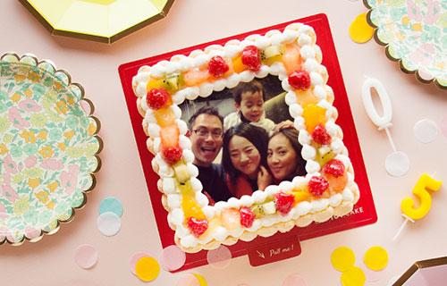 ピクトケーキ 写真ケーキ