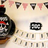 海賊テーマのパーティー飾り付け