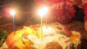 「ポコポッテイト」の立体キャラケーキ