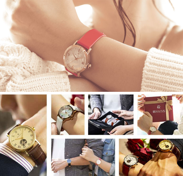 自分デザインを贈ろう!ルノータスの「カスタムオーダー腕時計」
