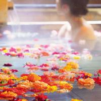 ホテルに泊まったらバラのお風呂でロマンチックサプライズ!