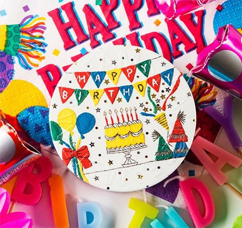 スチームクリーム 刺繍作家吉川まこ新デザイン缶 <HAPPY BIRTHDAY/ハッピーバースデー>