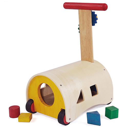 すくすくウォーカー 木のおもちゃ 手押車