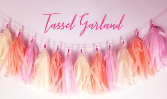 タッセルガーランドの作り方〜3色カラーでおしゃれに可愛く!