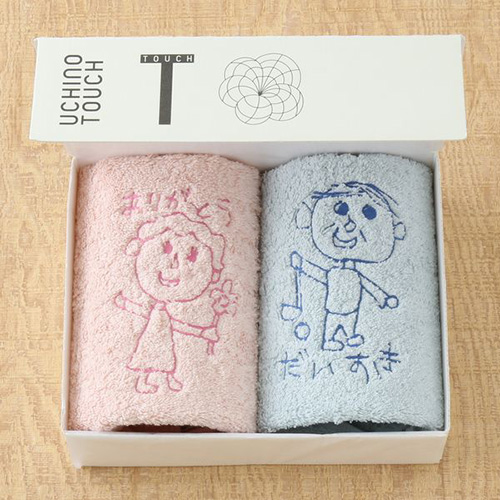 マイドローイング〜オリジナル刺繍タオルのオーダーチケット