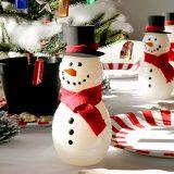 可愛いスノーマンボトルの作り方〜クリスマスパーティーの演出に最高!