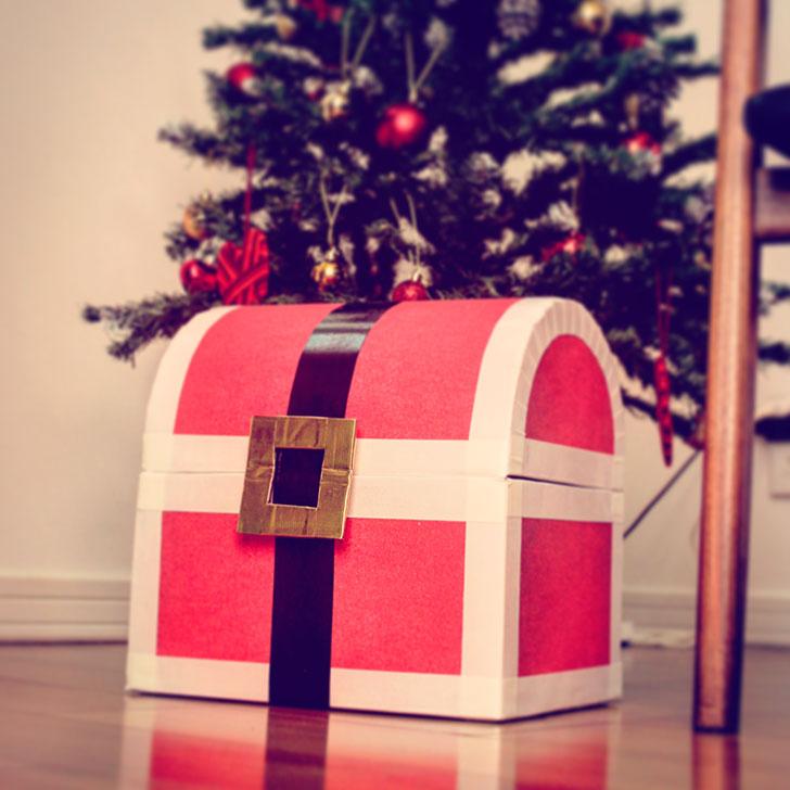 サンタの宝箱 クリスマス