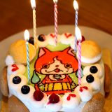 妖怪ウォッチ(ジバニャン)のイラストケーキ