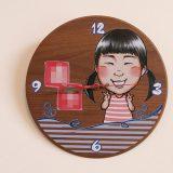似顔絵で幸せを贈ろう!「似顔絵オーダー時計」のご紹介