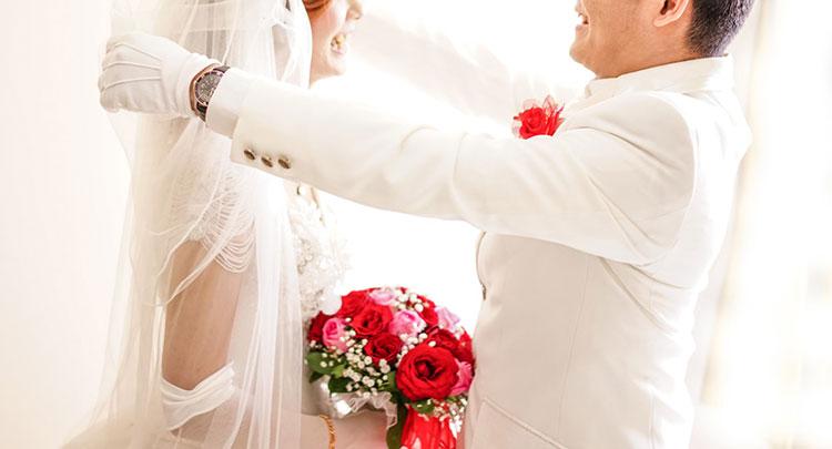 結婚式のイメージ