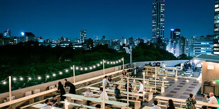ヒルトン東京「天空のビアガーデン 2017 ルーフトップ BBQ テラス」