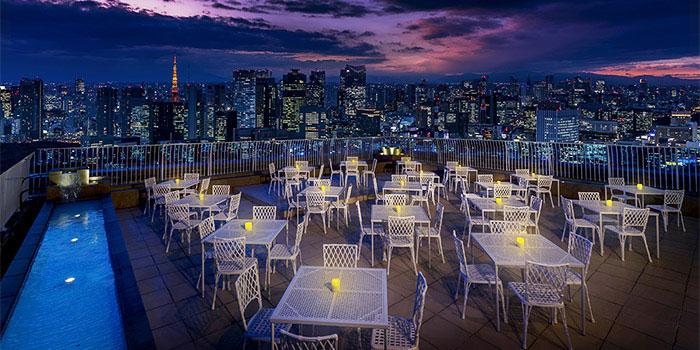 レストラン ルーク ウィズ スカイラウンジ「天空のビアテラス」(聖路加ガーデン)