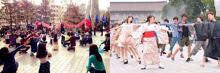 早稲田大学 フラッシュモブ ダンス 演出 振り付け