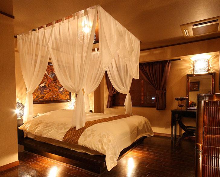 天蓋付きベッド バリアンリゾート