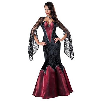 ハロウィンコスチューム ヴァンパイア 吸血鬼ドレス