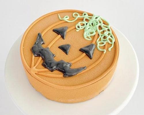 かぼちゃのおばけケーキ〜チョコレートムースケーキ